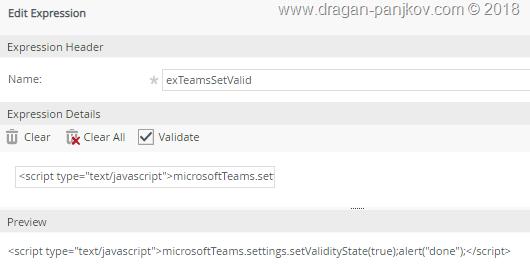 Dragan Panjkov - Adding K2 SmartForms form as Tab in Microsoft Teams