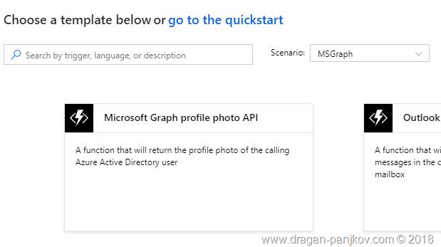 Dragan Panjkov - Using Microsoft Graph  NET Client Library in Azure