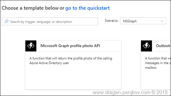 Dragan Panjkov - Using Microsoft Graph  NET Client Library